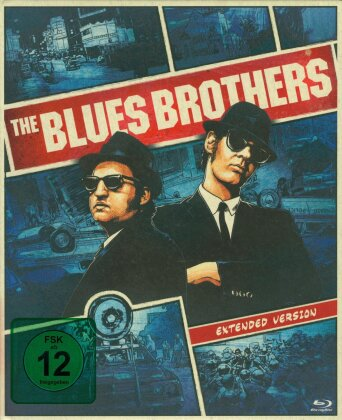 The Blues Brothers (1980) (Extended Edition, Kinoversion, Limited Deluxe Edition, Mediabook, 2 Blu-rays + DVD)