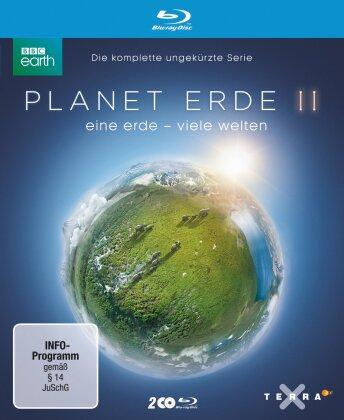 Planet Erde II - Eine Erde - Viele Welten (2016) (BBC Earth, 2 Blu-rays)