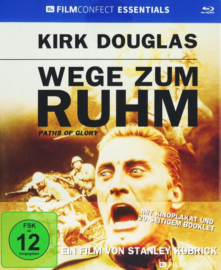 Wege zum Ruhm (1957) (Filmconfect Essentials, s/w, Mediabook)