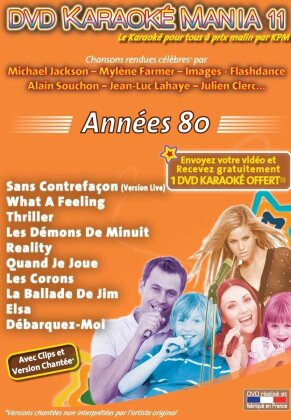 Karaoke - Karaoke Mania: Vol. 11 - Années 80