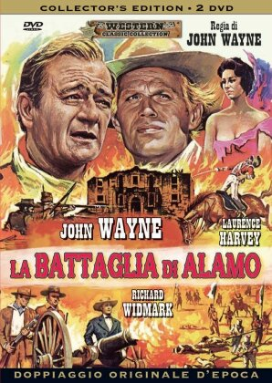 La battaglia di Alamo (1960) (Western Classic Collection, Collector's Edition, 2 DVD)