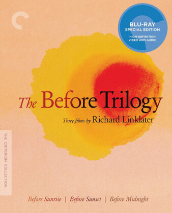 Before Sunrise / Before Sunset / Before Midnight - The Before Trilogy (Criterion Collection, 3 Blu-ray)