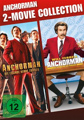 Anchorman / Anchorman 2 (2 DVDs)