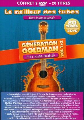 Karaoke - Le meilleur des tubes - Génération Goldman Vol. 1 & 2 (2 DVDs)