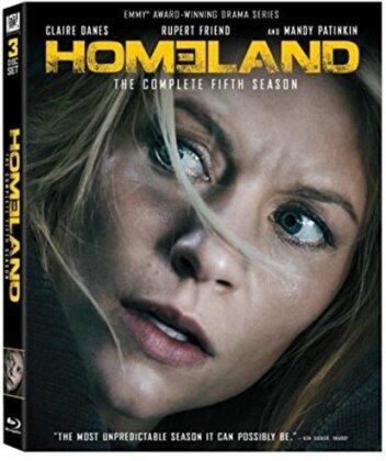 Homeland - Season 5 (3 Blu-rays)