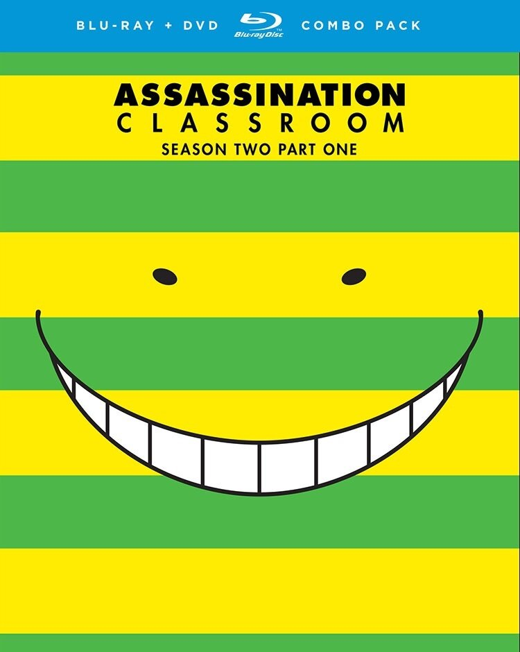 Assassination Classroom - Season 2.1 (2 Blu-rays + 2 DVDs)