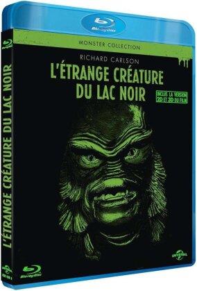 L'etrange créature du lac noir - (Inclus la version 2D et 3D du film) (1954) (Monster Collection, n/b)