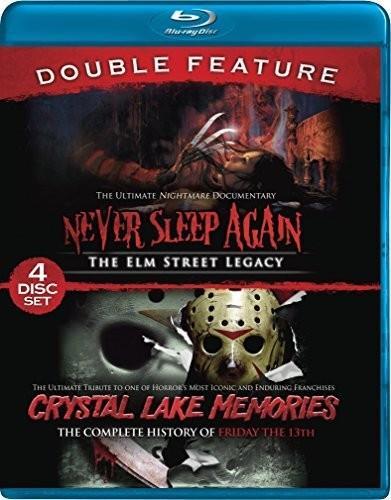 Crystal Lake Memories / Never Sleep Again (Double Feature, 4 Blu-ray)