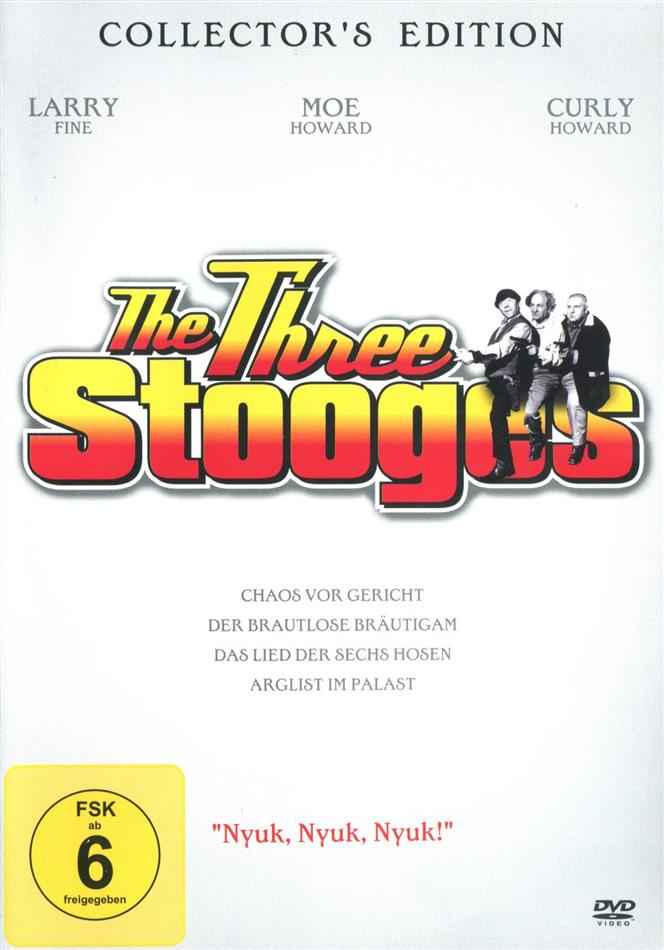 """The Three Stooges - """"Nyuk, Nyuk, Nyuk"""" (s/w)"""