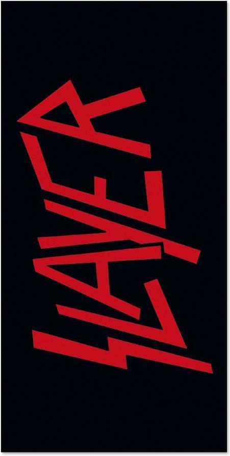 Slayer: Logo - Badetuch