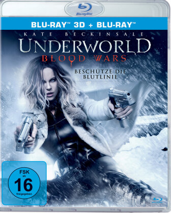 Underworld 5 - Blood Wars (2016) (Blu-ray 3D + Blu-ray)