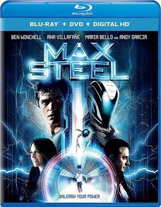Max Steel (2016) (Blu-ray + DVD)