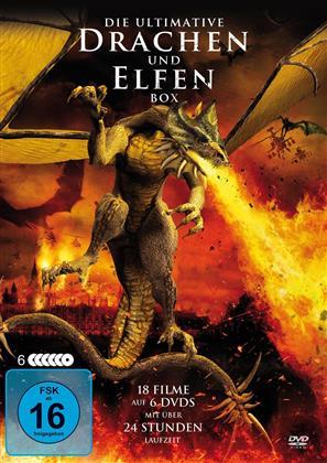Die Ultimative Drachen und Elfen Box - 18 Spielfilme Box (6 DVDs)