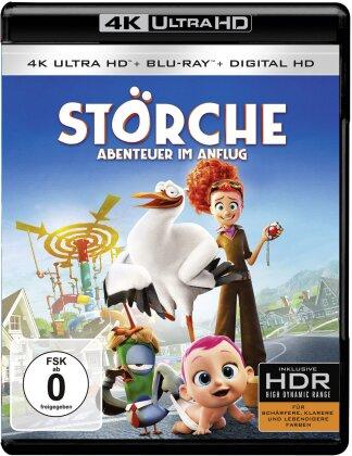 Störche - Abenteuer im Anflug (2016) (4K Ultra HD + Blu-ray)
