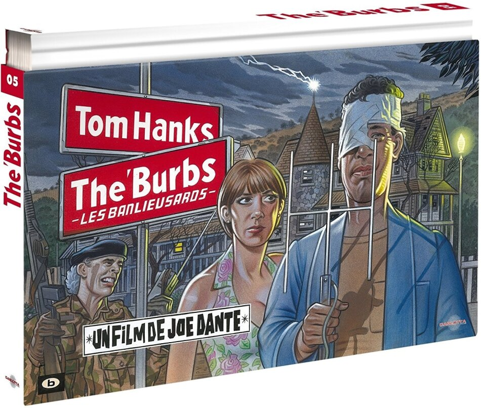 The 'Burbs - Les banlieusards (1989) (Édition Coffret Ultra Collector, Limited Edition, Blu-ray + 2 DVDs + Buch)