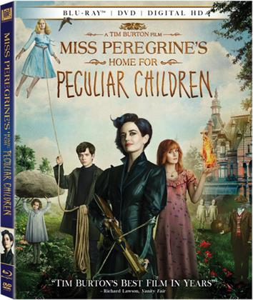 Miss Peregrine's Home for Peculiar Children (2016) (Blu-ray + DVD)