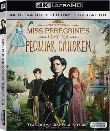 Miss Peregrine's Home for Peculiar Children (2016) (4K Ultra HD + Blu-ray)