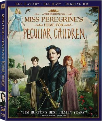 Miss Peregrine's Home For Peculiar Children (2016) (Blu-ray + Blu-ray 3D)
