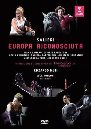 Orchestra of the Teatro alla Scala, Riccardo Muti, … - Salieri - Europa Riconosciuta (Erato)