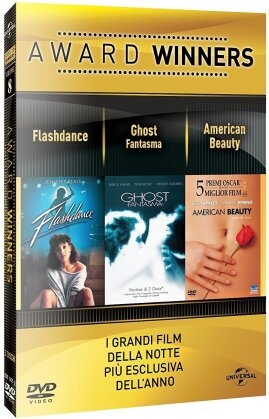 Award Winners - Volume 8 - Flashdance / Ghost / American Beauty (3 DVDs)