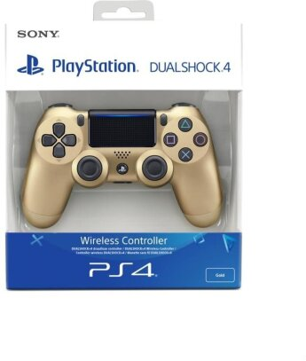 PS4 Controller original gold NEU wireless Dual Shock 4