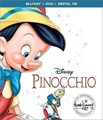 Pinocchio (1940) (The Walt Disney Signature Collection, Blu-ray + DVD)