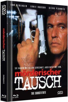 Mörderischer Tausch (1996) (Cover C, Limited Edition, Mediabook, Uncut, Blu-ray + DVD)