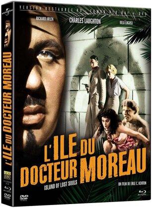 L'Ile du docteur Moreau (1932) (s/w, Restaurierte Fassung, Blu-ray + DVD)