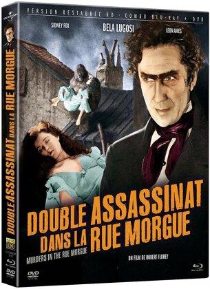 Double assassinat dans la rue Morgue (1932) (s/w, Restaurierte Fassung, Blu-ray + DVD)