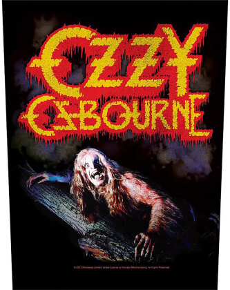 Ozzy Osbourne - Bark At The Moon (Backpatch)