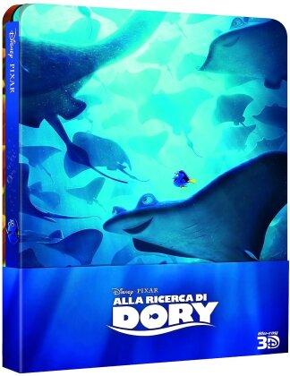 Alla ricerca di Dory (2016) (Steelbook, Blu-ray 3D + 2 Blu-rays)