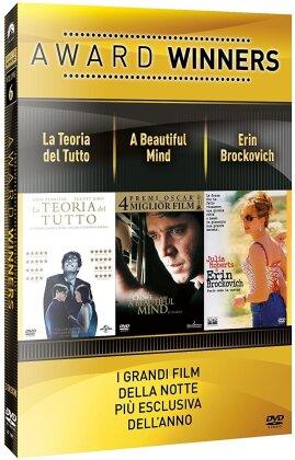 Award Winners - Volume 6 - La teoria del tutto / A Beautiful Mind / Erin Brockovich (3 DVD)