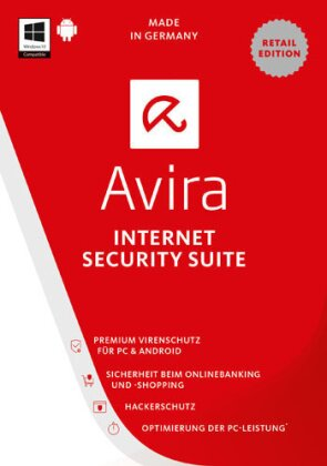 Avira Internet Security Suite 2017 - 1 User