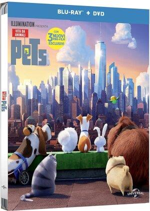 Pets - Vita da animali (2016) (Steelbook, Blu-ray + DVD)
