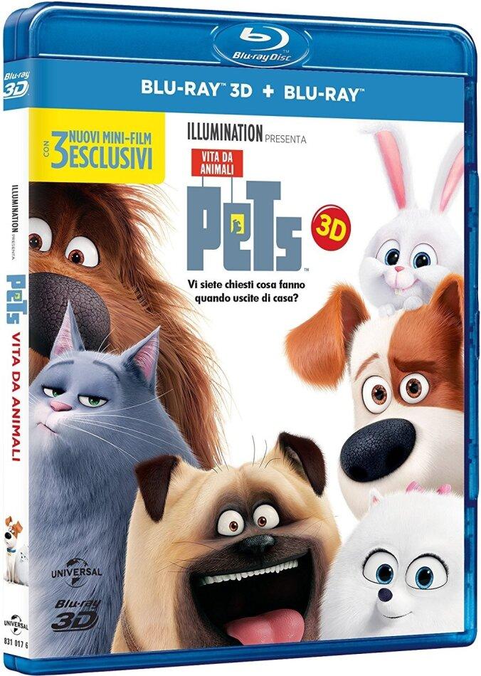 Pets - Vita da animali (2016) (Blu-ray 3D + Blu-ray)