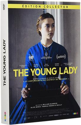 The Young Lady (2016) (Collector's Edition, DVD + Buch)