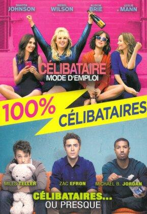 Coffret 100% célibataires - Célibataire mode d'emploi / Célibataires... ou presque (2 DVDs)