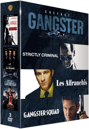 Coffret gangster - Strictly Criminal / Les affranchis / Gangster Squad (3 DVDs)