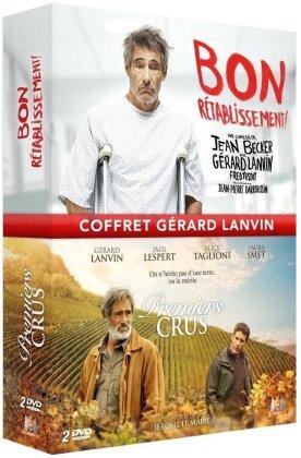 Coffret Gérard Lanvin - Bon rétablissement / Premiers crus (2 DVD)