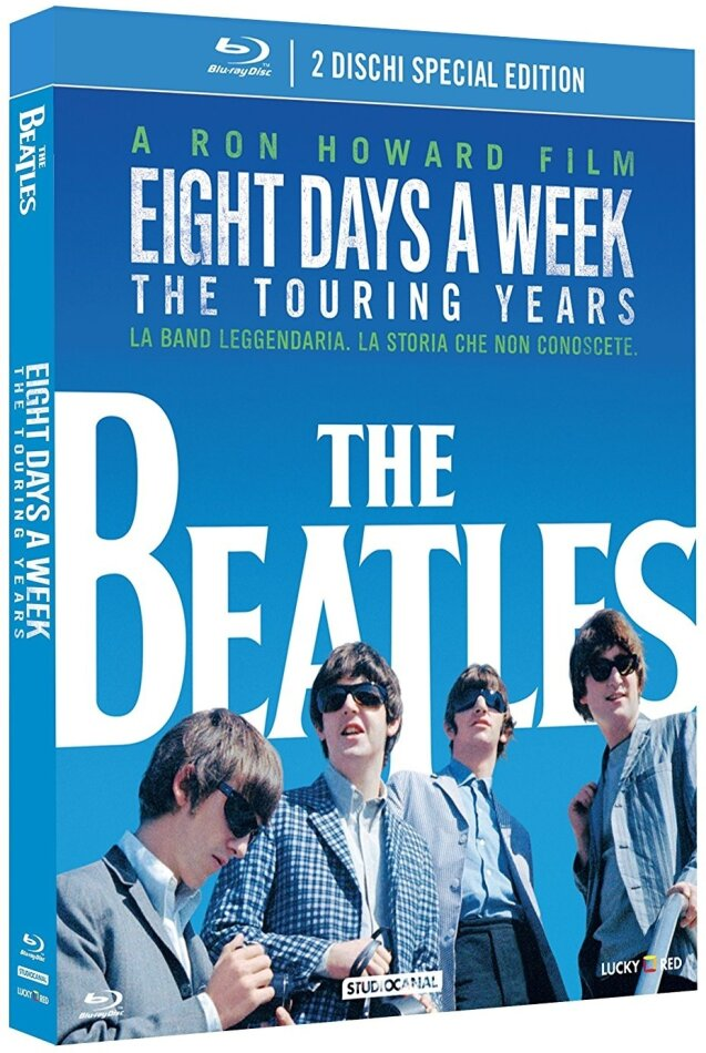 The Beatles: Eight Days a Week - The Touring Years (2016) (Edizione Speciale, 2 Blu-ray)