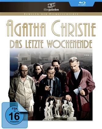 Agatha Christie - Das letzte Wochenende (1945) (Filmjuwelen, s/w)