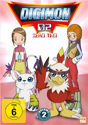 Digimon 02 - Zero Two - Staffel 2 Vol. 2 (3 DVDs)
