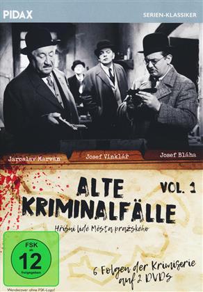 Alte Kriminalfälle - Vol. 1 (Pidax Serien-Klassiker, s/w, 2 DVDs)