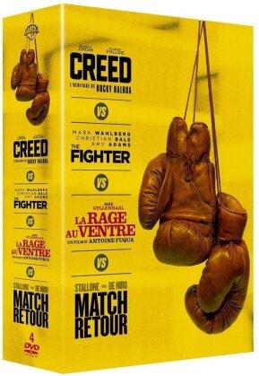 Creed / The Fighter / La rage au ventre / Match retour (Box, 4 DVDs)
