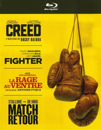Creed / Fighter / La rage au ventre / Match retour (4 Blu-rays)