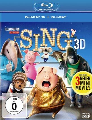 Sing (2016) (Blu-ray 3D + Blu-ray)