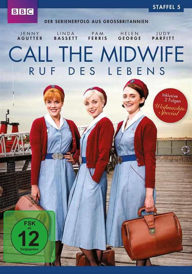 Call the Midwife - Staffel 5 (BBC, 3 DVD)