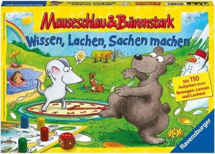 Mauseschlau & Bärenstark - Wissen, Lachen, Sachen machen