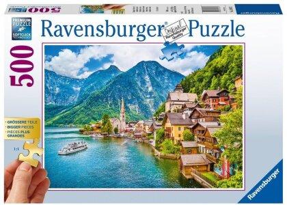 Hallstatt in Österreich - Puzzle