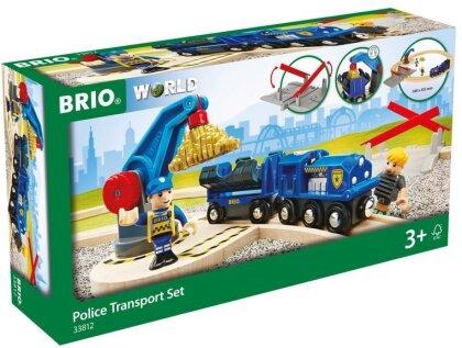 BRIO Bahn 33812 Polizei Goldtransport-Set